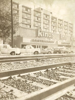 In 1974 the kings inn in downtown reno in 2016 the building