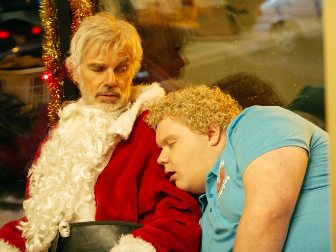 Sneak Peek Billy Bob Thornton Suits Up For Bad Santa 2