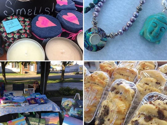 A glance of what's offered at the Muncie Makers Market.