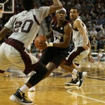 Mississippi State freshman guard Malik Newman drives to the basket against Texas Southern on Wednesday.