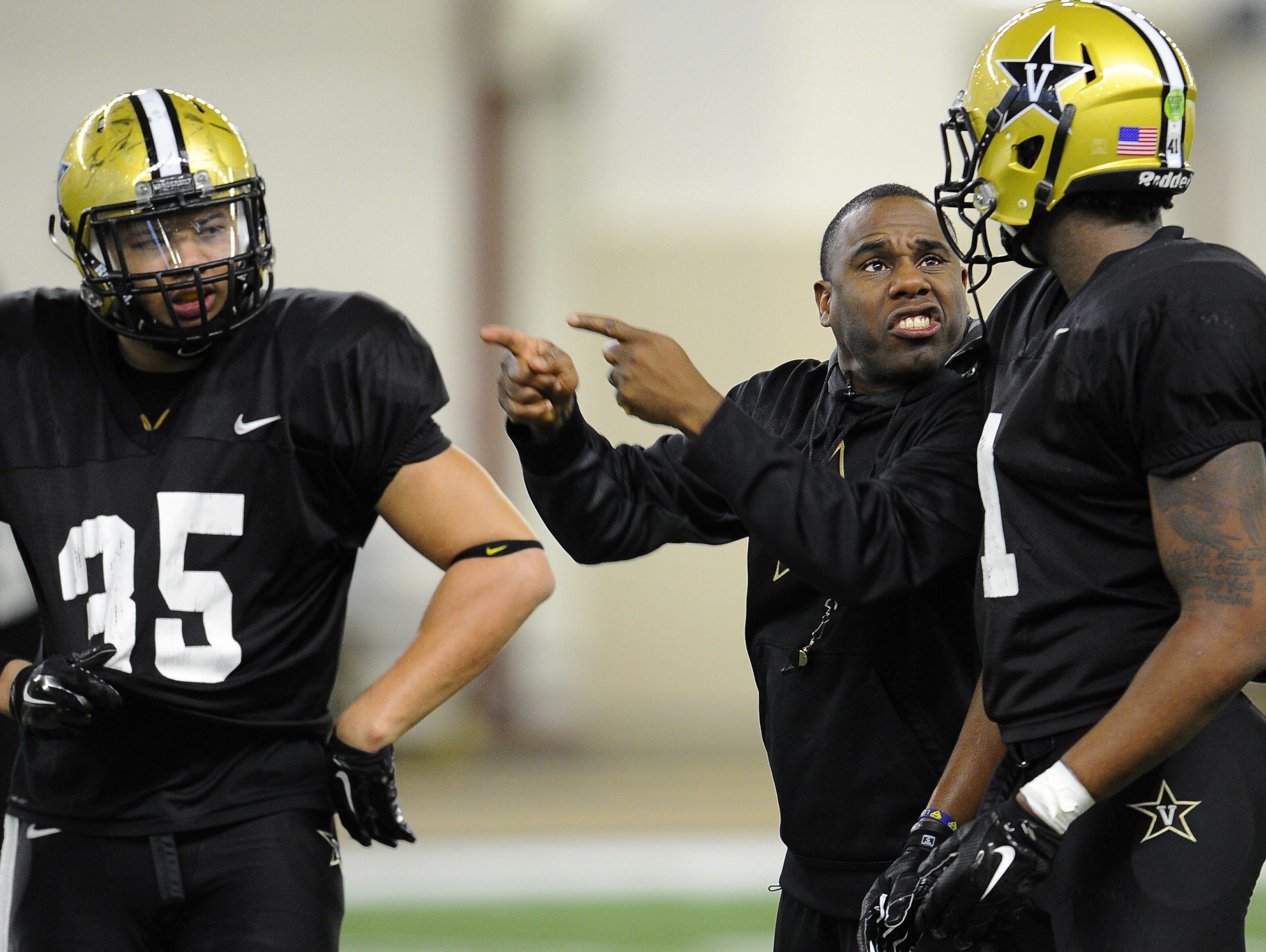 Vanderbilt head coach Derek Mason takes over defensive play-calling duties this season.