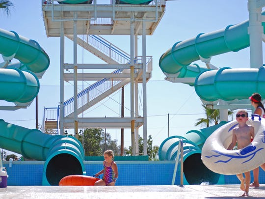 Enjoy free admission for moms at Tempe's Big Surf Waterpark.