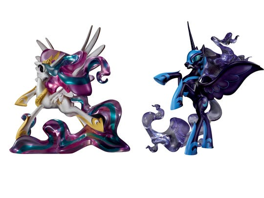 Princesses Celestia and Luna are available for fans
