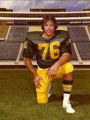 Mike Bell was a CSU defensive tackle from 1975 to 1978.