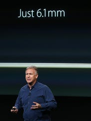 Apple exec Phil Schiller talk about the new iPad Air