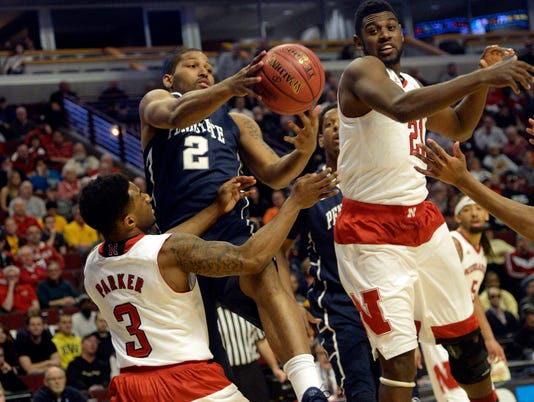 NCAA Basketball: Big Ten Conference Tournament-Nebraska vs Penn State