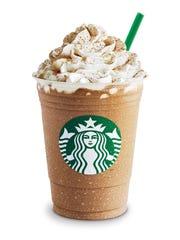 A Starbucks Pumpkin Spice Frappuccino.