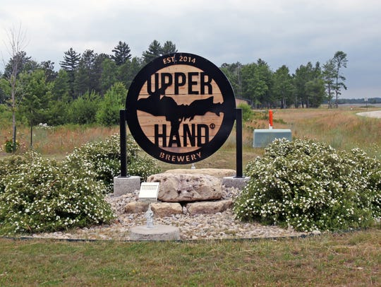 Upper Hand Brewery is a craft brewery in Escanaba,