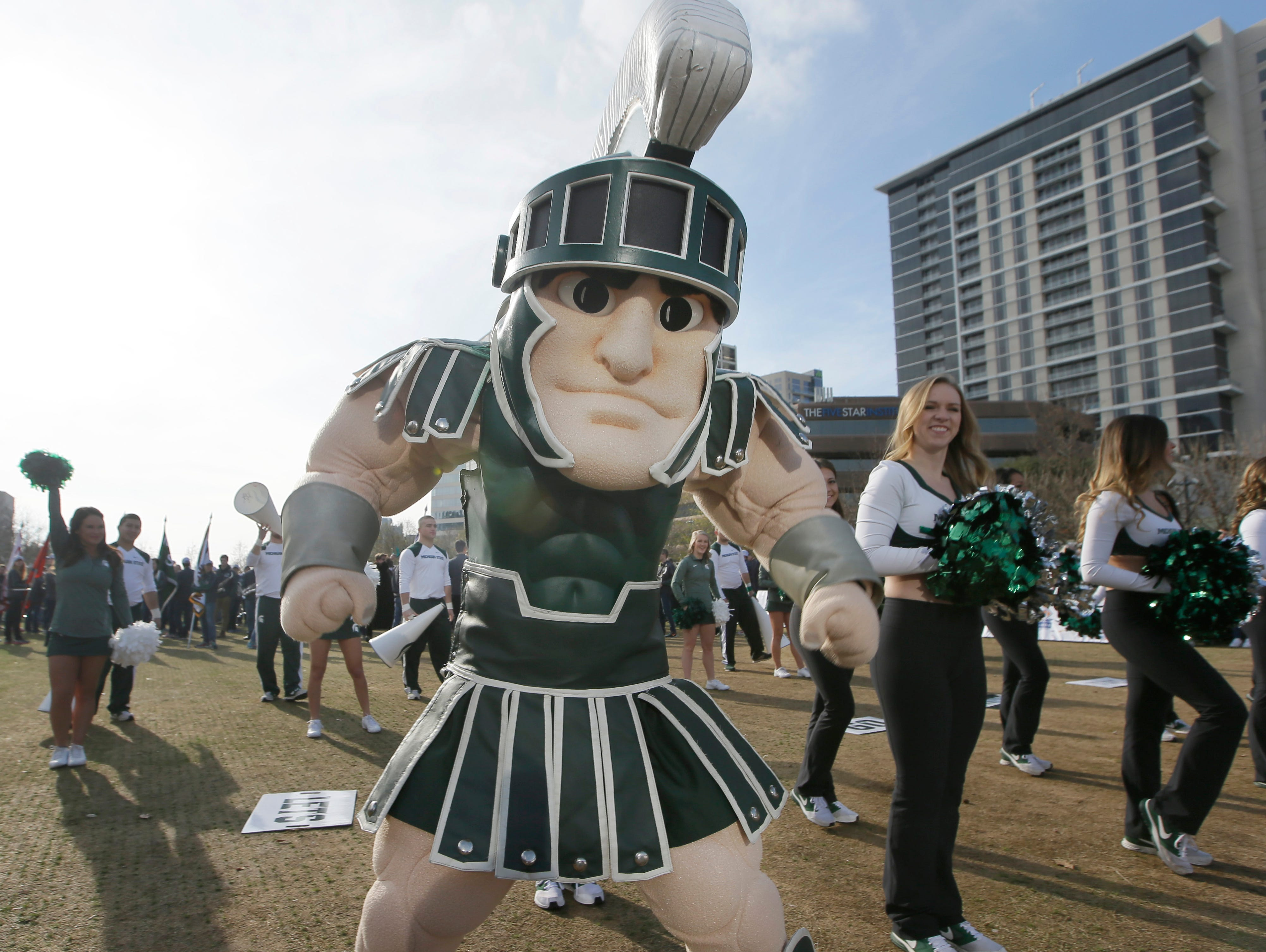 Michigan State mascot Sparty