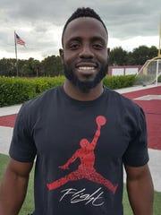 First Baptist Academy girls soccer coach Jackyson Bazile
