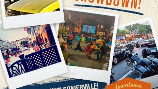 Somerville is one of 16 towns selected for New Jersey Monthly's first Downtown Showdown in September.