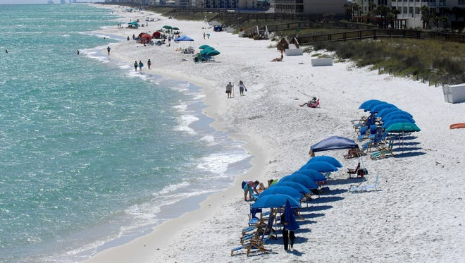 Navarre Beach was one area of Santa Rosa County to see a higher number of visitors in December 2016 from the same month in 2015. Overall, the county was up 18 percent in number of visitors and people who stayed in the county in December 2016.
