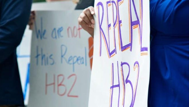 Many opponents of HB2 say nothing short of a full repeal of the laws effects will do.