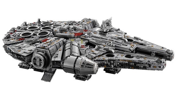 The Ultimate Collector Series Millennium Falcon will