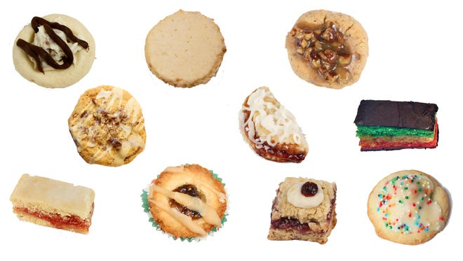 The grand-prize winners of the Journal Sentinel Holiday Cookie Contest