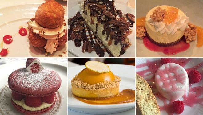 Carol Deptolla's favorite Milwaukee restaurant desserts from 2017