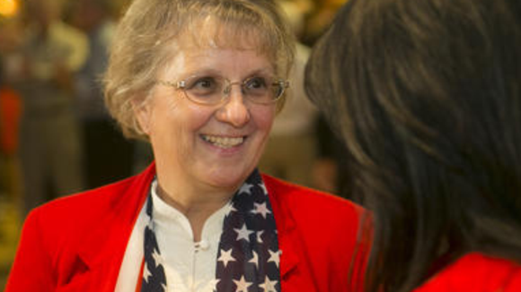 Newly-elected school superintendent Diane Douglas may