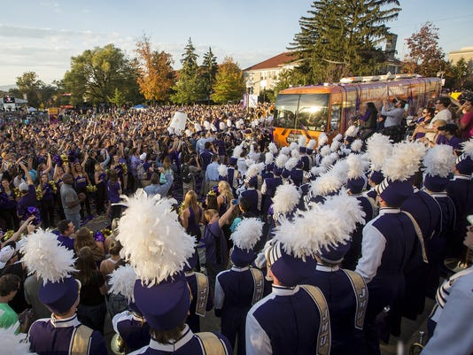 James Madison GameDay Football