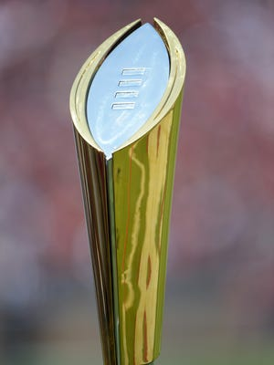 The College Football Playoff selection committee on Tuesday night released its fourth Top 25. The final ranking will determine the four teams playing for the championship.