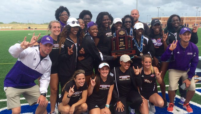 The Northwestern State women's track team finished second at the Southland Conference Outdoor Track and Field Championship.