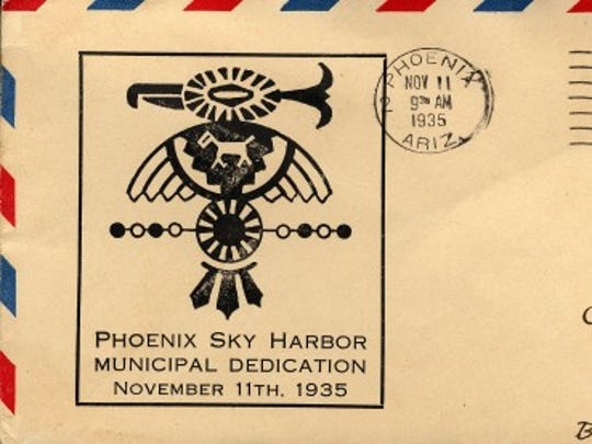 "1935: City purchases Sky Harbor- The city of Phoenix purchases Sky Harbor Airport from Acme Investment Co. for $100,000 and dedicates it on Nov. 11 with an aerial circus performance and dinner-dance celebration at the Westward Ho. The airport is so isolated from the rest of the city that residents nickname it ""The Farm."" 