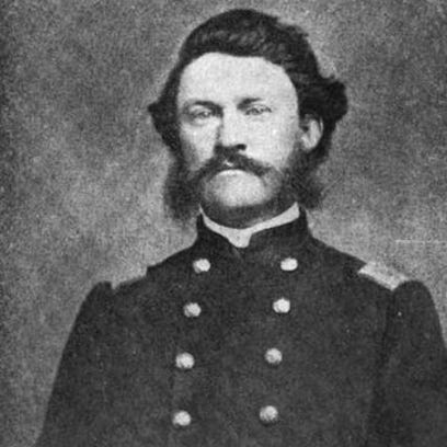 Col. William B. Carroll, commander of the 10th Indiana