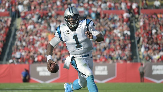 Cam Newton likely won't be running with the ball as often as he did in the past, coach Ron Rivera says.