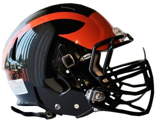 Hanover football helmet.