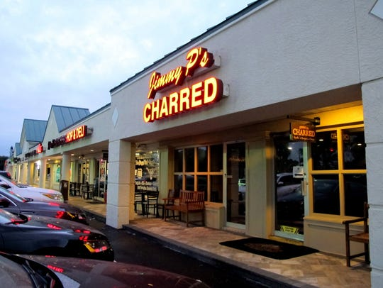 Jimmy P's Charred restaurant opened in June 2015 next