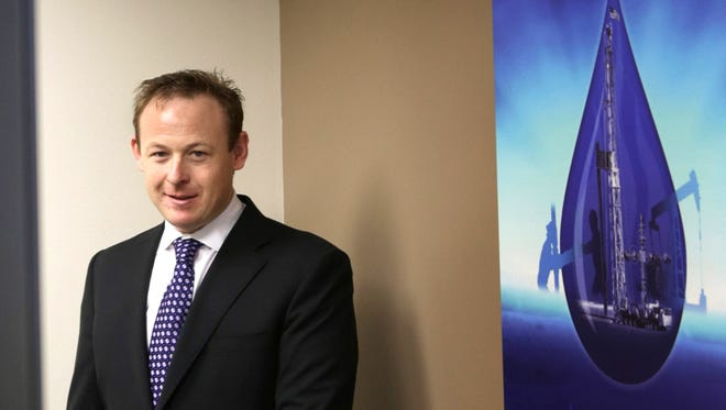 Fortis Energy's CEO Nathan Conway at the headquarters in Bloomfield Hills in 2013.