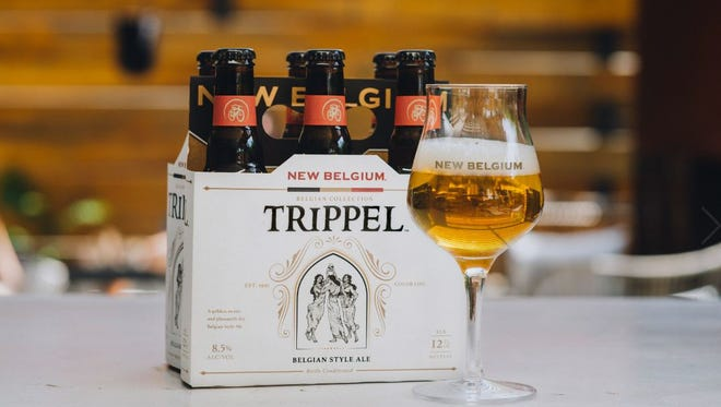 Trippel is a Belgian-style golden ale from New Belgium Brewing Co.