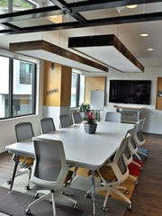 A conference room inside of the CAST Workspace Cooperative