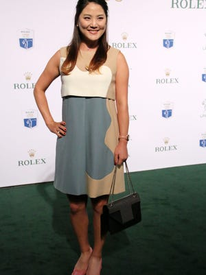 So Yeon Ryu poses on the green carpet at Thursday evening's Rolex LPGA Awards at Tiburón Golf Club in Naples. The Rolex Awards ceremony will air Monday at 8 p.m. on Golf Channel.