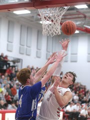 Shelby's Uriah Schwemley is looking to help the Whippets get back on track on Saturday when Madison comes to town.
