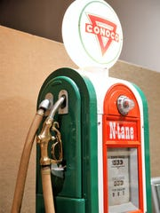 This Conoco gas pump is one of several featured in
