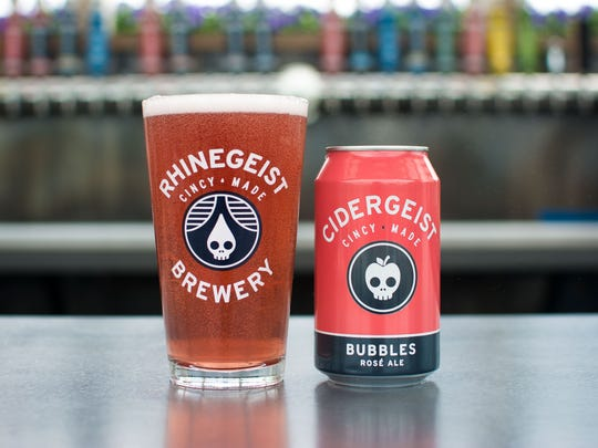 Bubbles, the popular rose ale from Rhinegeist