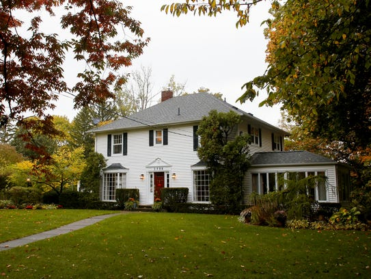 The historic 1916 Colonial home of Larry Lee on Moores