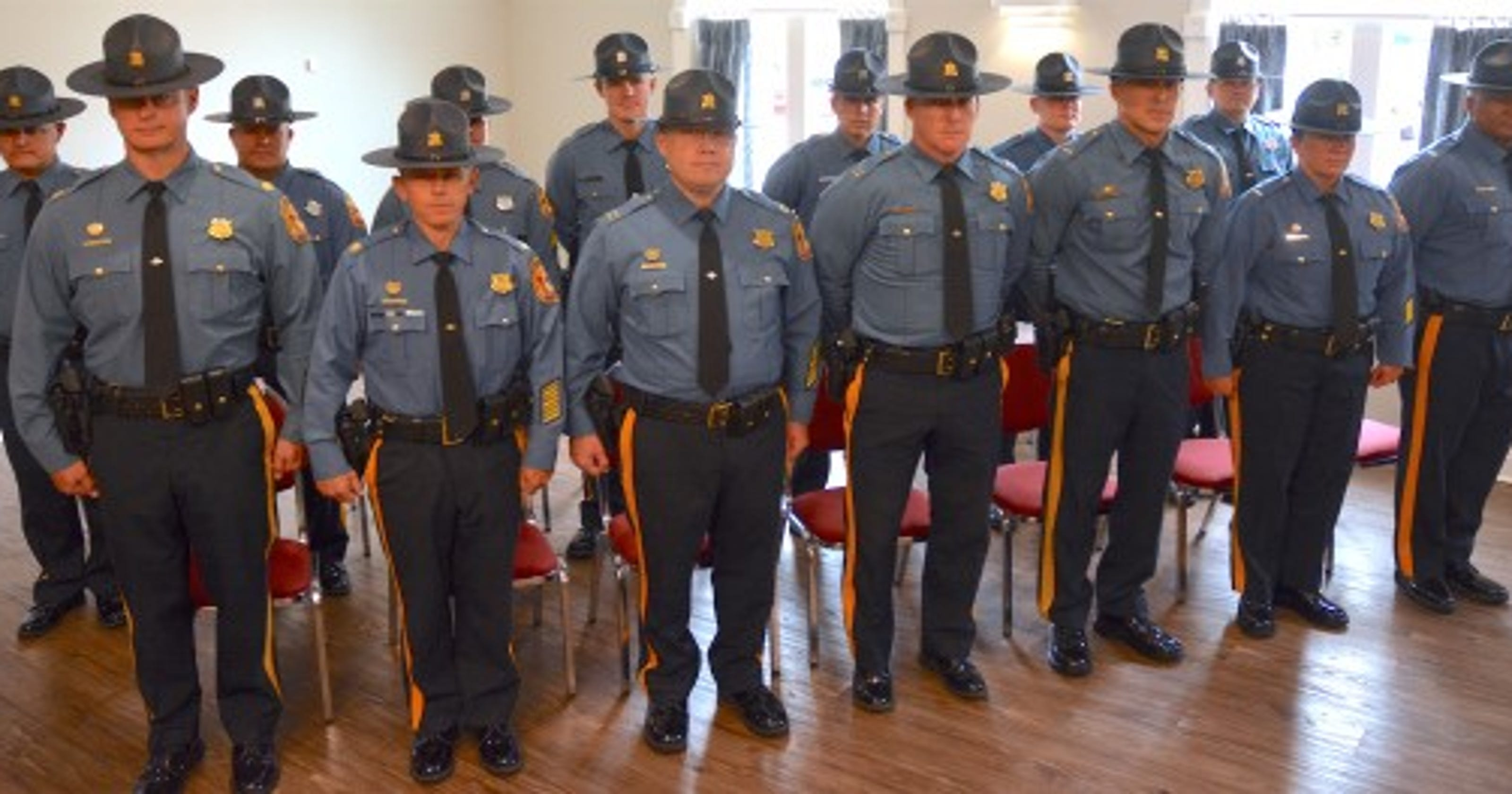 Delaware State Police promote 16 officers