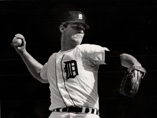 Detroit Tigers pitcher Denny McLain went 31-6 with
