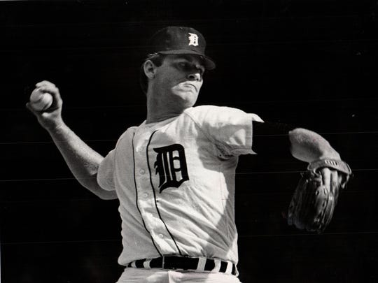 Detroit Tigers pitcher Denny McLain went 31-6 with a 1.96 ERA in 1968 to win the American League MVP and Cy Young Award.