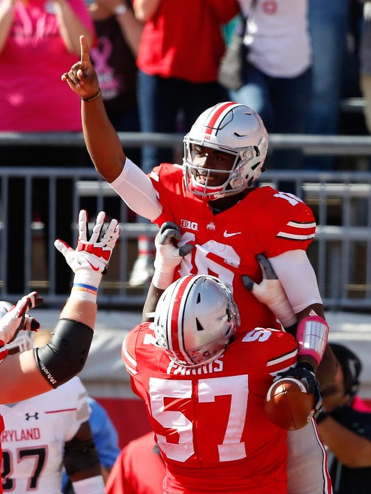 NCAA Football: Maryland at Ohio State