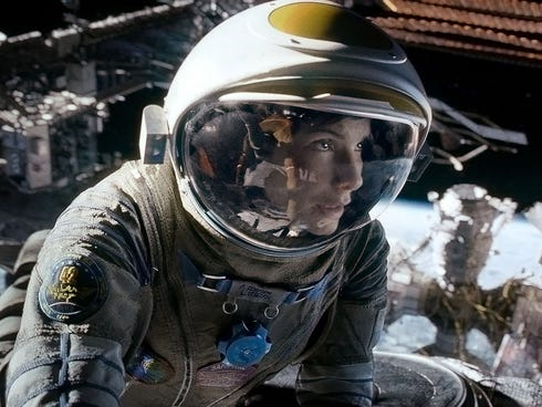 'Gravity,' the sci-fi odyssey starring Sandra Bullock, has earned $231 million, making it the most popular film so far likely to be nominated.