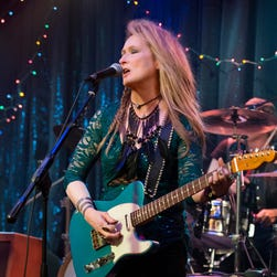 "Meryl Streep in a scene from the motion picture ""Ricki and the Flash."""