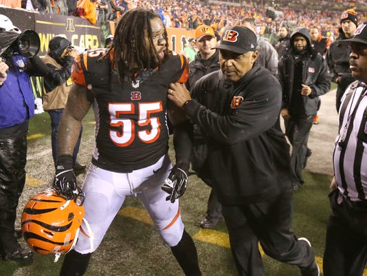 Bengals Caught On Vontaze Burfict S Roller Coaster