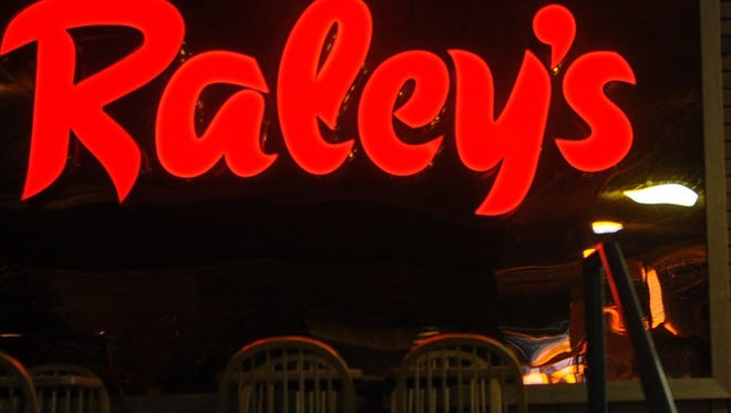 A Raley's sign is seen in Reno in 2009.