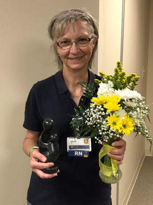 Helen Windholz was recently recognized as a Daisy Award winner atHaysMed.