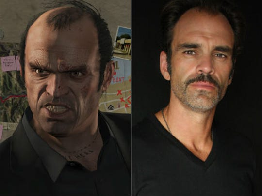 Steven Ogg Right Plays Trevor In Grand Theft Auto V Photo Rockstar Games