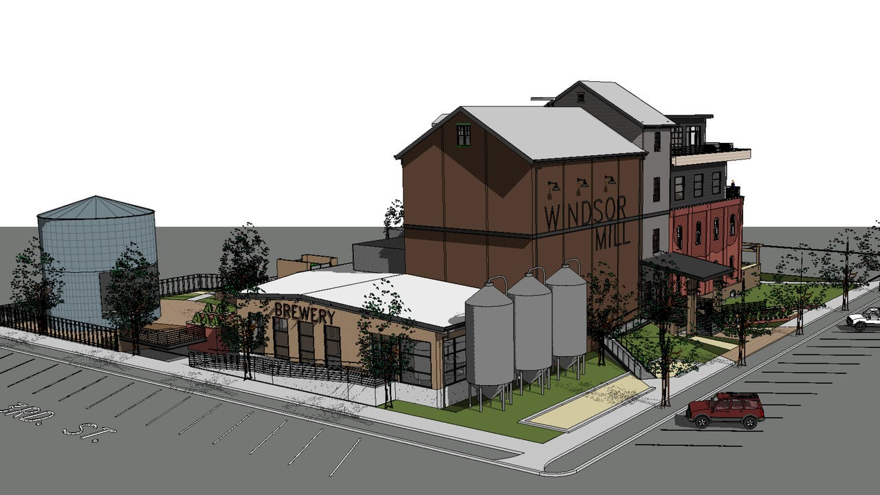 The Windsor Mill was damaged in the 2008 tornado, but Fort Collins developer Blue Ocean has plans to revitalize the space.