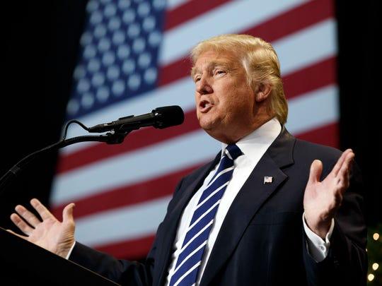 In this Dec. 13 photo, President-elect Donald Trump