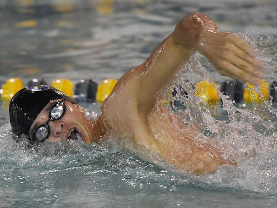 Cape's Jack Weeks set a new school record in the freestyle